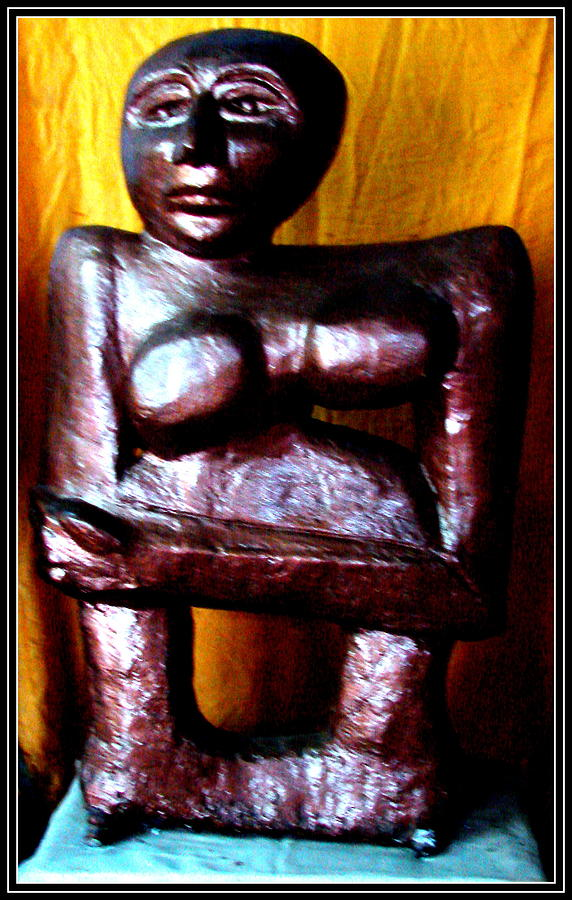 Sculptures Sculpture - My Old Model by Anand Swaroop Manchiraju