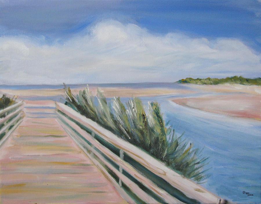 Myrtle Beach Painting By Clara Sue Beym