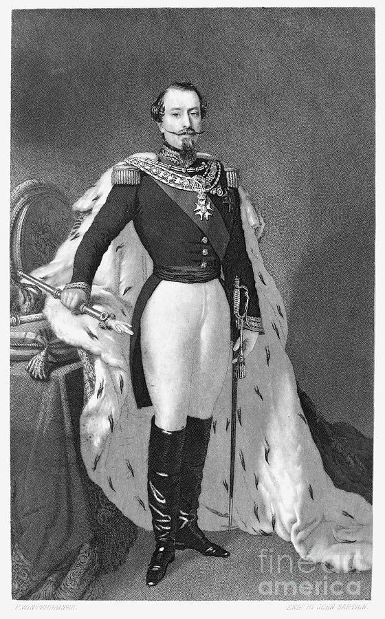 Napoleon IIi (1808-1873) Photograph by Granger