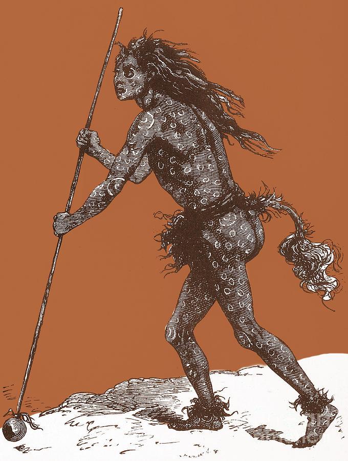 Medicine Man Photograph - Native American Shaman by Science Source