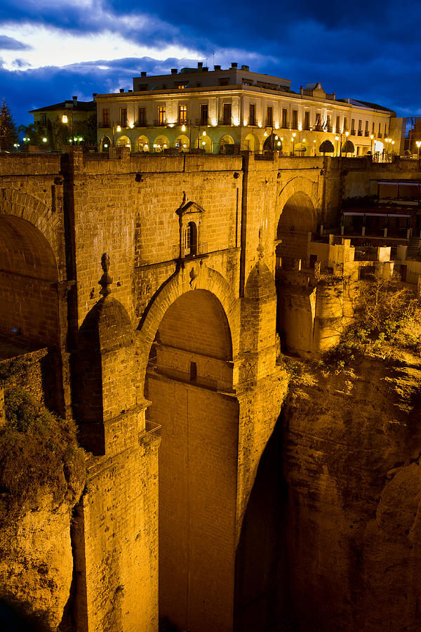 New Photograph - New Bridge In Ronda by Artur Bogacki