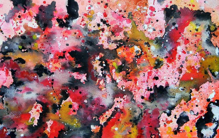Home Decor Painting - New Life by Katina Cote