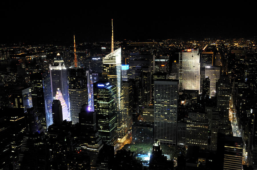 Manhattan Photograph New York City Skyline