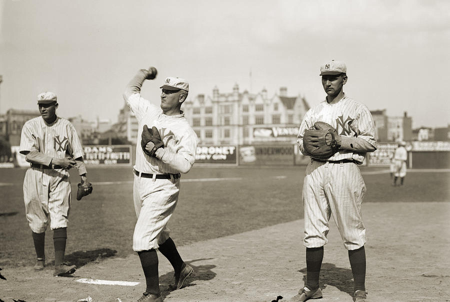 1912 Photograph - New York Highlanders, 1912 by Granger