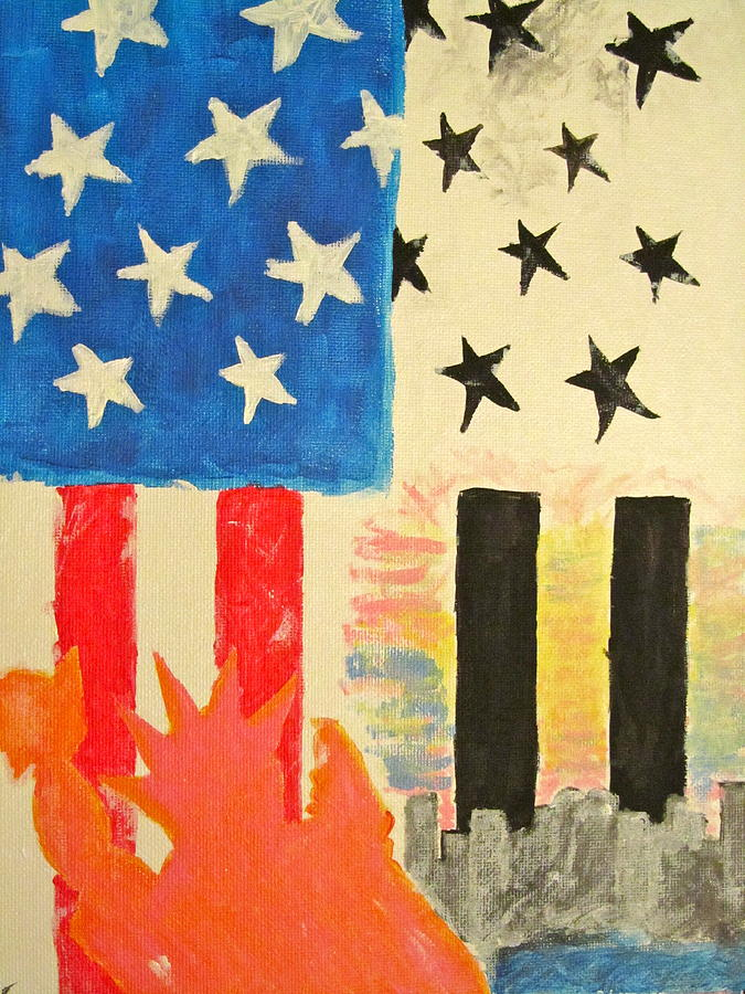 New York Painting - New York Pride by Hannah Stedman
