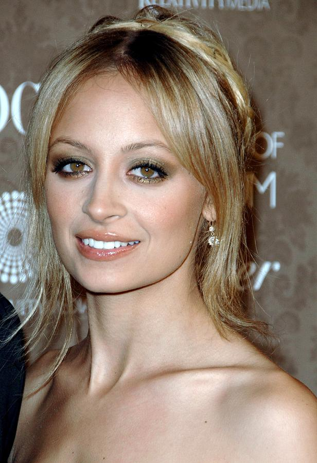The Art Of Elysium 2nd Annual Black Tie Gala Photograph - Nicole Richie At Arrivals For The Art by Everett