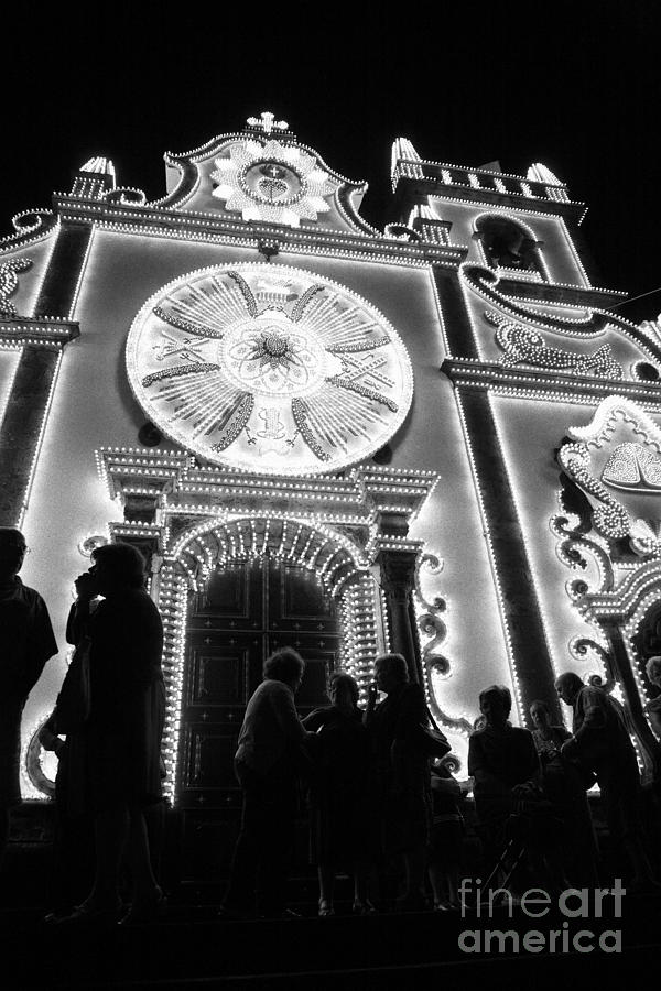 Church Photograph - Nighttime Religious Celebrations by Gaspar Avila