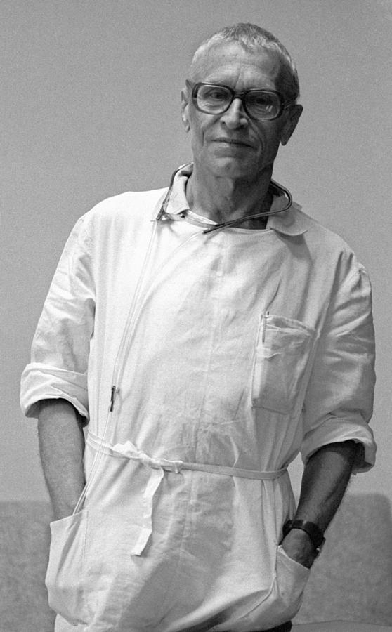 Nikolai Amosov Photograph - Nikolai Amosov, Soviet Heart Surgeon by Ria Novosti