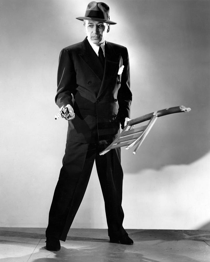 1940s Movies Photograph - Nocturne, George Raft, 1946 by Everett