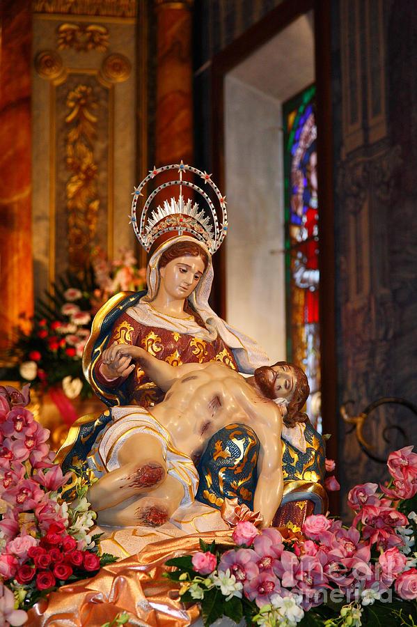 Mother Photograph - Nossa Senhora Da Piedade by Gaspar Avila