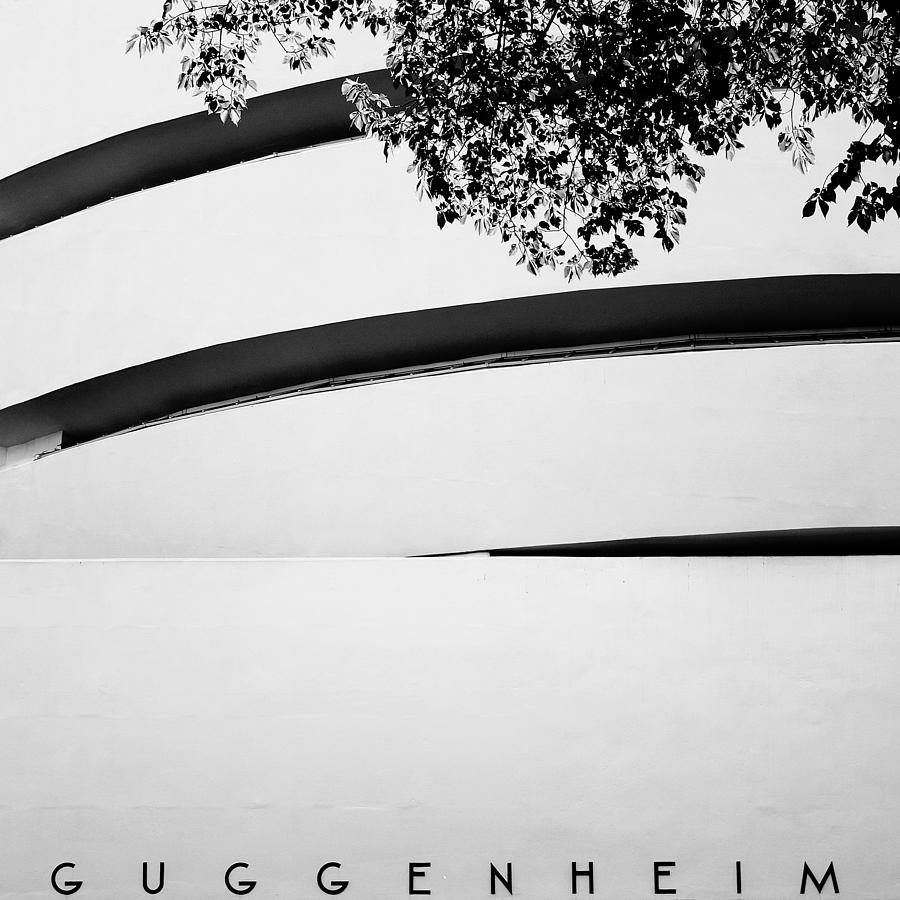 Ny Photograph - Nyc Guggenheim by Nina Papiorek