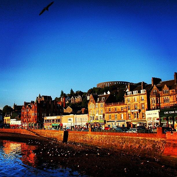 City Photograph - Oban by Luisa Azzolini
