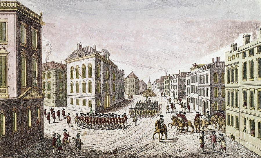 Occupied New York 1776 Photograph By Granger