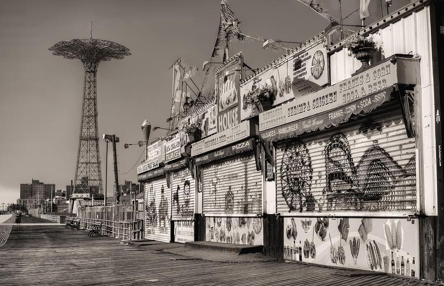 Coney Island Photograph - Off Season by JC Findley