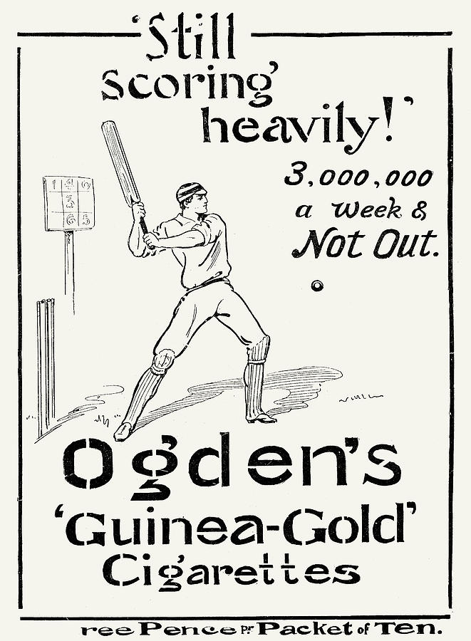 1897 Photograph - Ogdens Cigarettes, 1897 by Granger