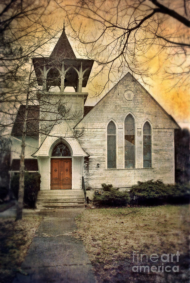 Church Photograph - Old Church by Jill Battaglia