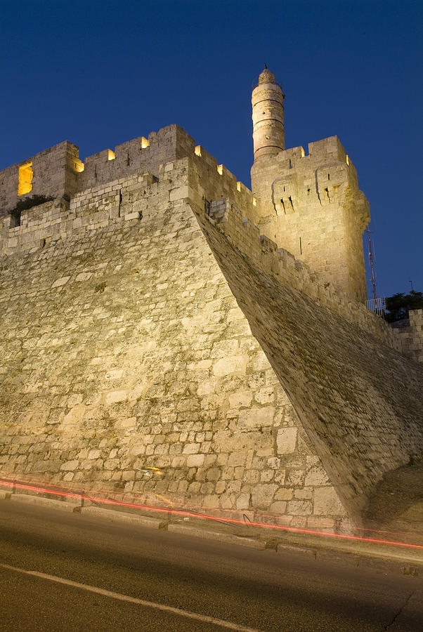 Middle East Photograph - Old City, Tower Of David Museum by Richard Nowitz