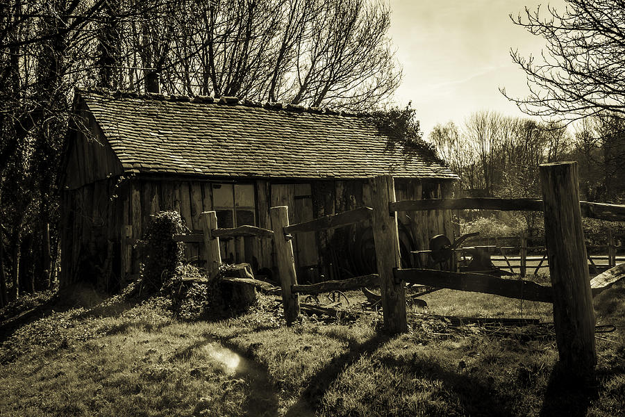 Shed Photograph - Old Fashioned Shed by Dawn OConnor