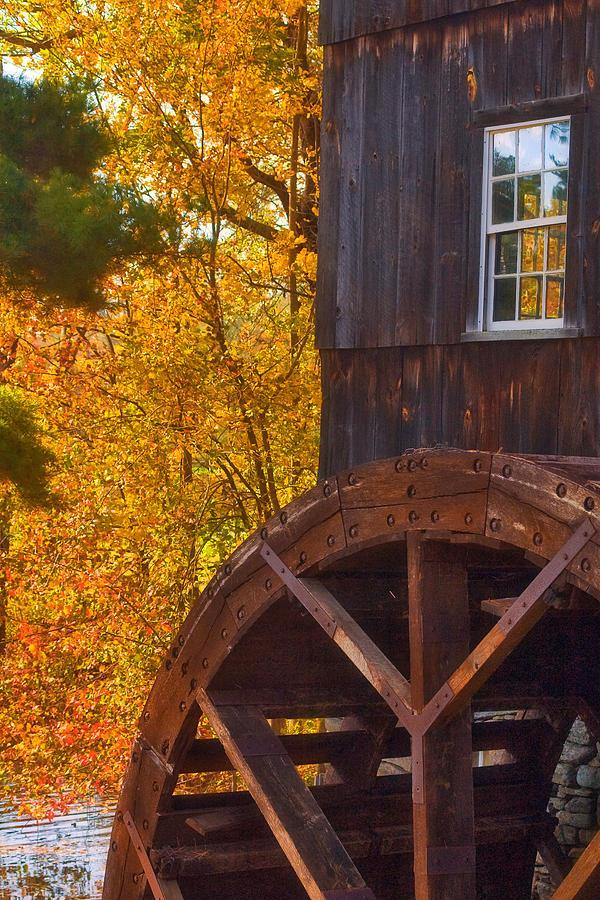 Mill Photograph - Old Mill by Joann Vitali