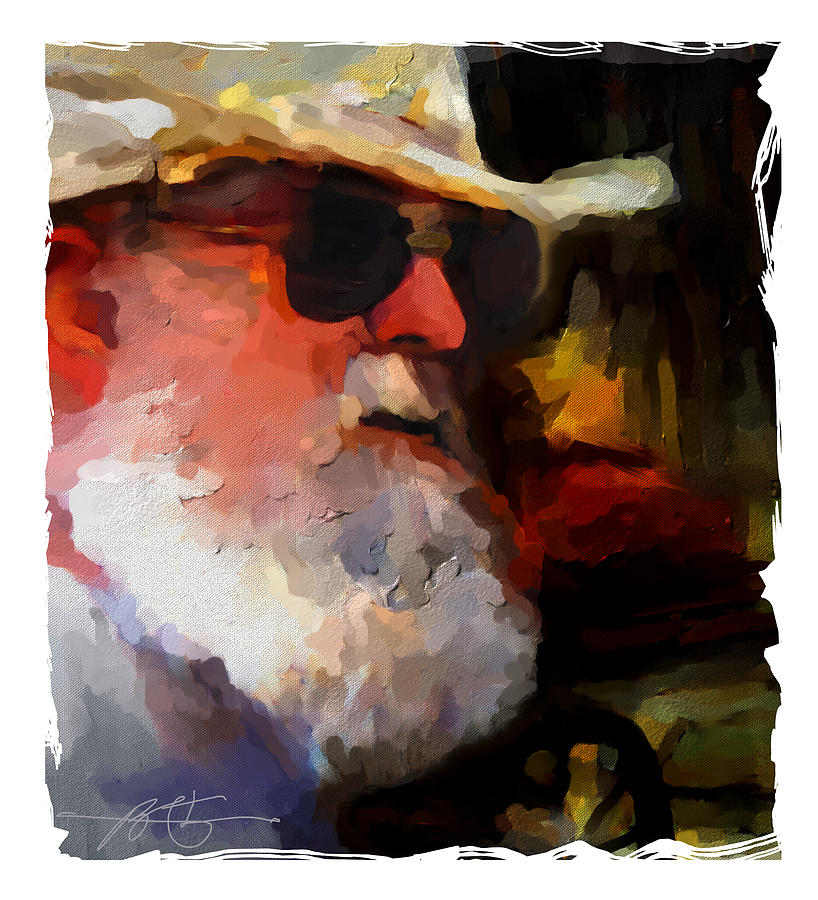 Old Timer Painting - Old Timer by Bob Salo