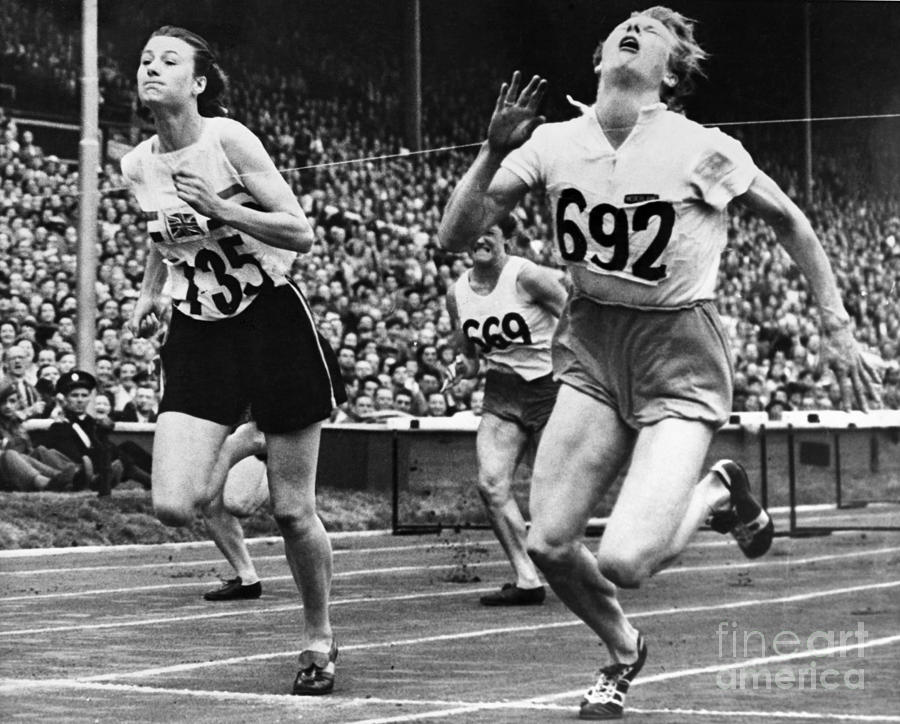 1948 Photograph - Olympic Games, 1948 by Granger