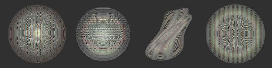 Multipart Digital Art - Ongrey 16 by Li   van Saathoff