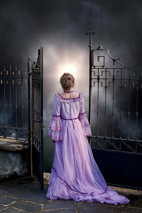 Woman Photograph - Open Gate by Joana Kruse