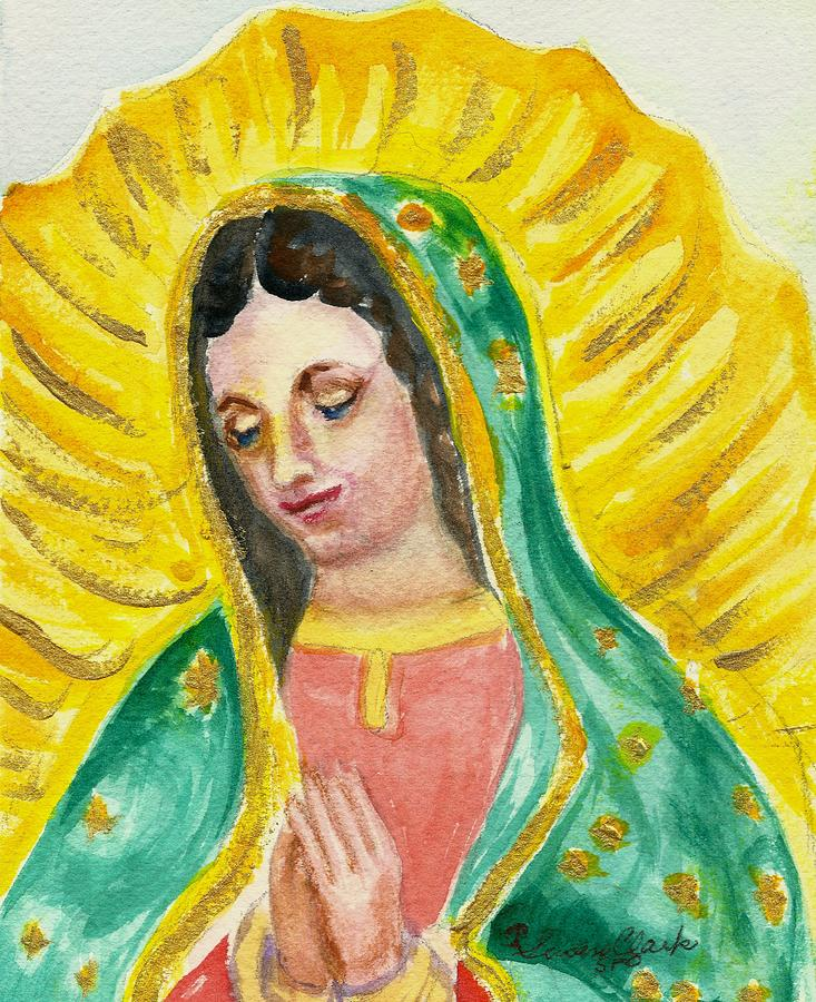 Guadalupe Painting - Our Lady Of Guadalupe by Susan  Clark