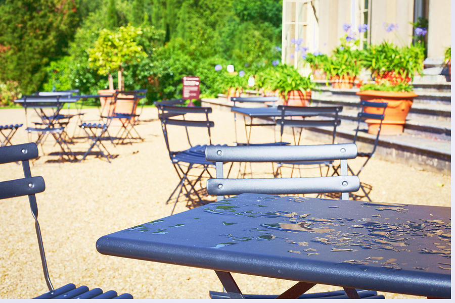 Al Fresco Photograph - Outdoor Cafe by Tom Gowanlock