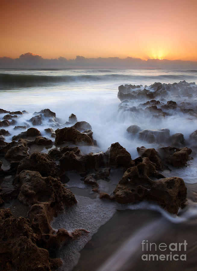 Coral Cove Photograph - Overwhelmed By The Sea by Mike  Dawson