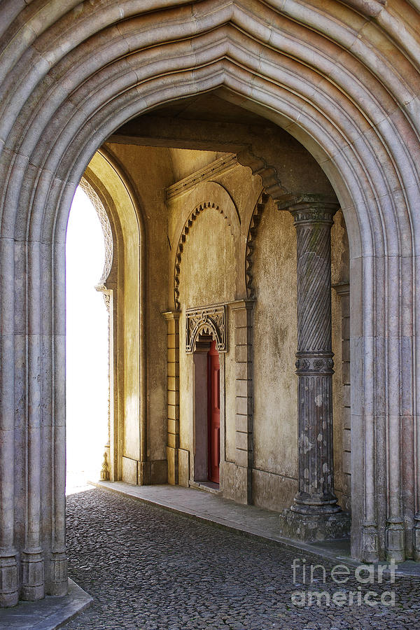 Ancient Photograph - Palace Arch by Carlos Caetano