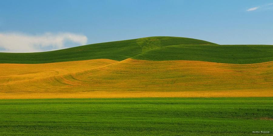 Panorama Photograph - Palouse Panorama by Winston Rockwell