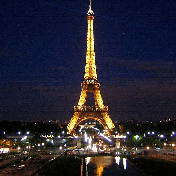 City Photograph - Paris By Night by Luisa Azzolini