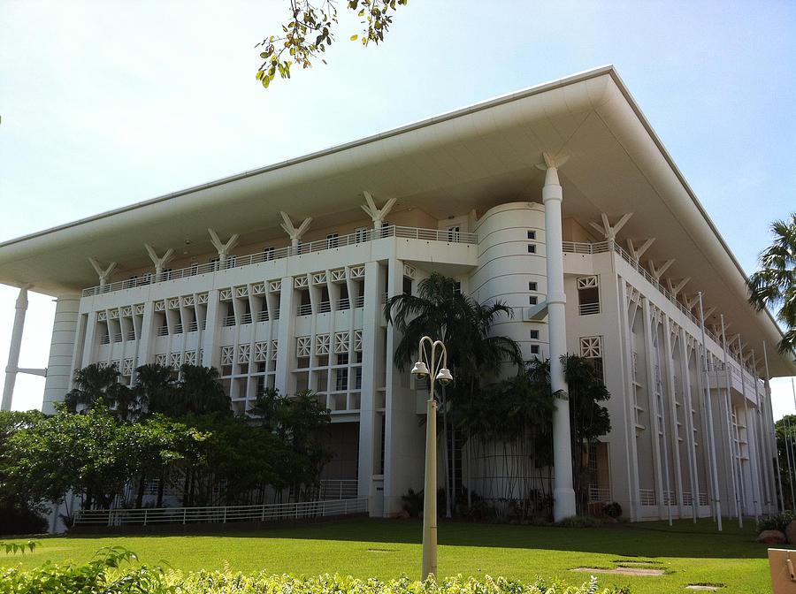 Darwin Photograph - Parliament House by Dee Avery