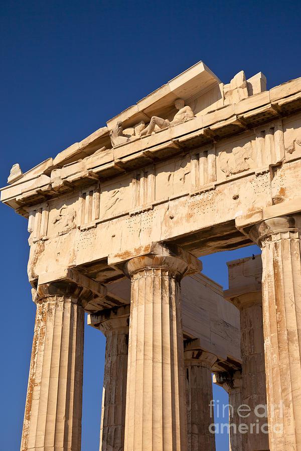 Parthenon Photograph - Parthenon by Brian Jannsen