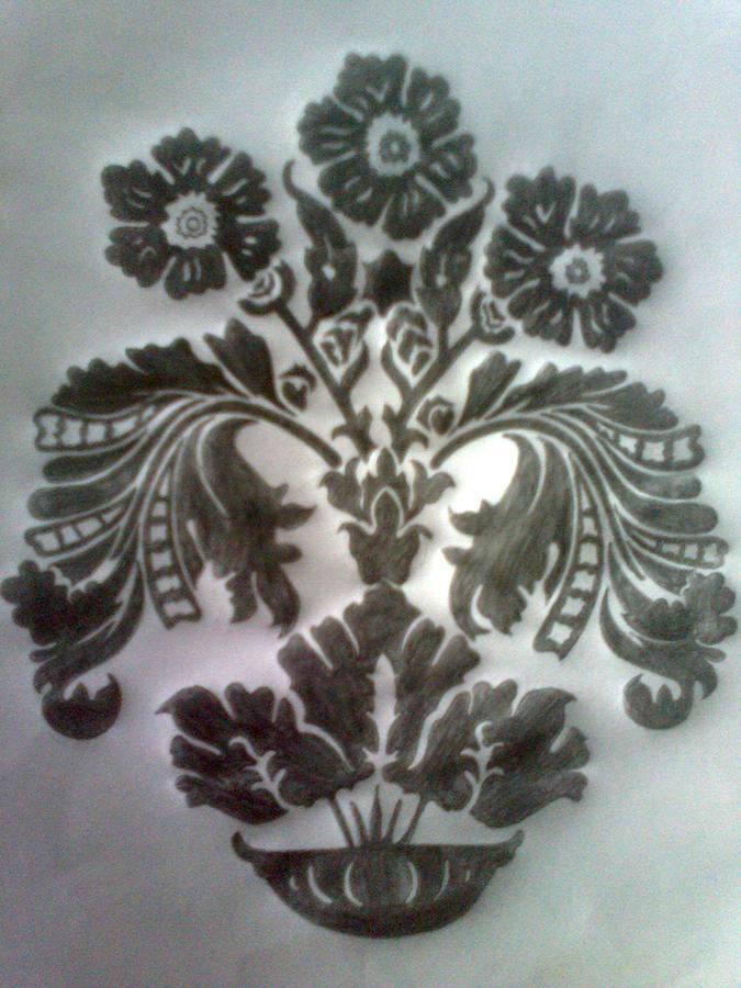 Drawing - Pencil Drawing by Saji N m