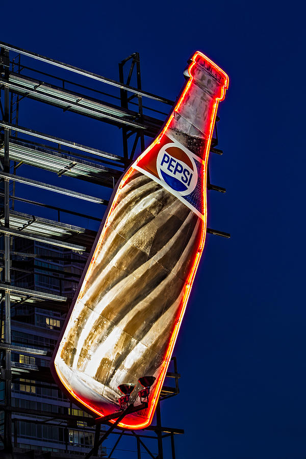 Pepsi Cola Photograph - Pepsi Cola Bottle by Susan Candelario