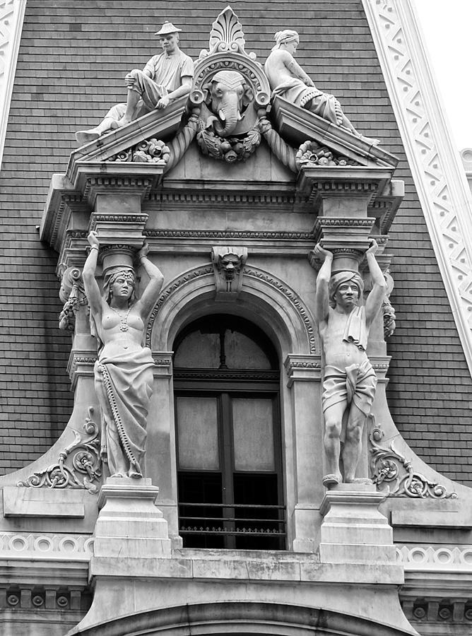 Philadelphia Photograph - Philadelphia City Hall Window by Bill Cannon