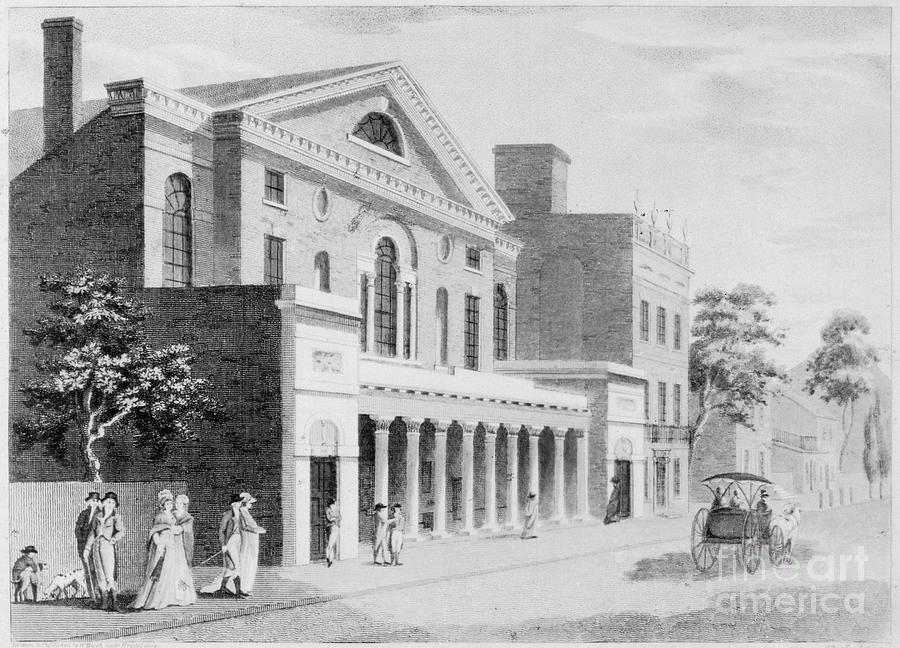 1800 Photograph - Philadelphia: Theater by Granger