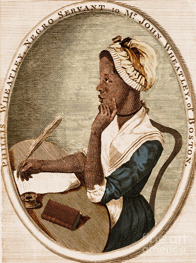 Phillis Wheatley Photograph By Photo Researchers
