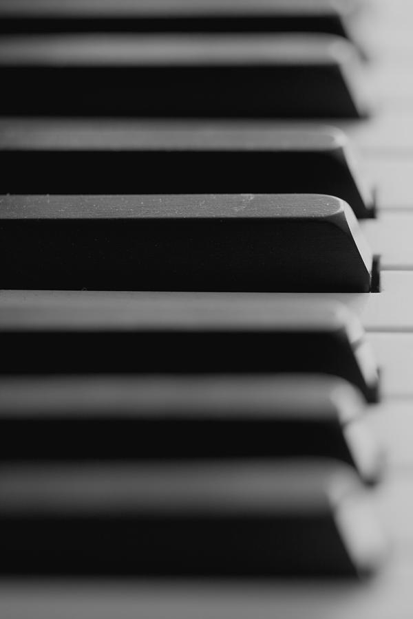 Piano Keys Photograph - Piano Keys by Falko Follert