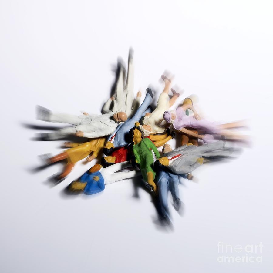 Figurine Photograph - Pile Of Chestnuts by Bernard Jaubert