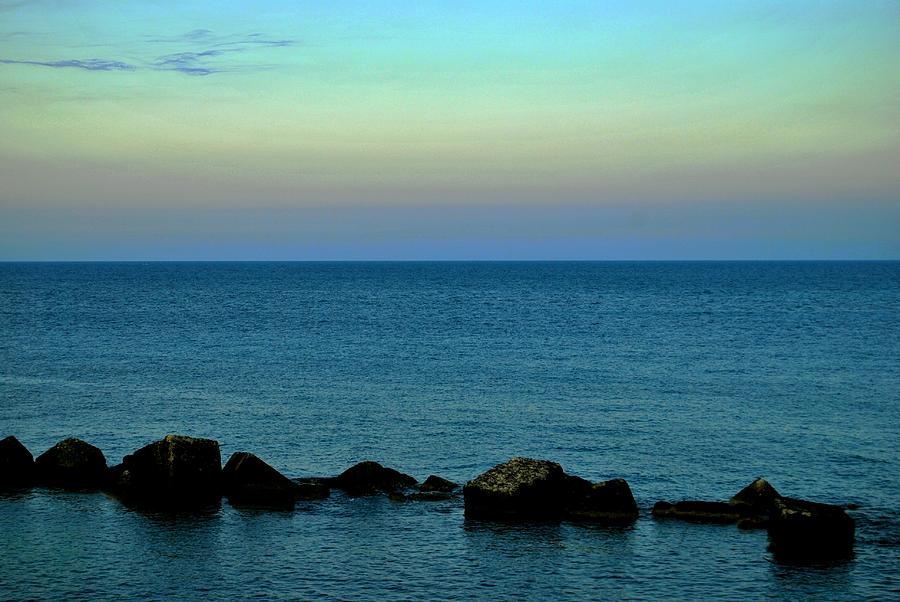 Playas De Noche Photograph by Eire Cela