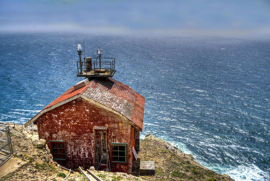 Landscape Photograph - Point Reyes Lighthouse by Diego Re