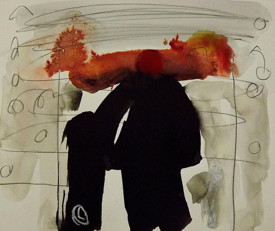 Painting Painting - Portal by Jorgen Rosengaard