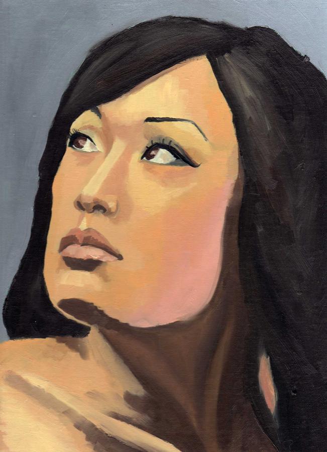 Portrait Painting - Portrait by Stephen Panoushek