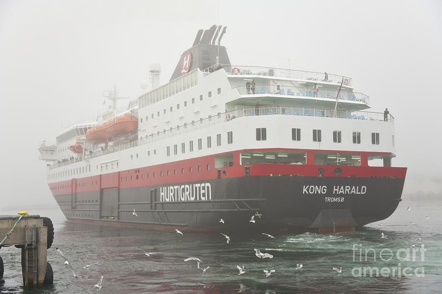 Scene Photograph - Post Ship  by Heiko Koehrer-Wagner