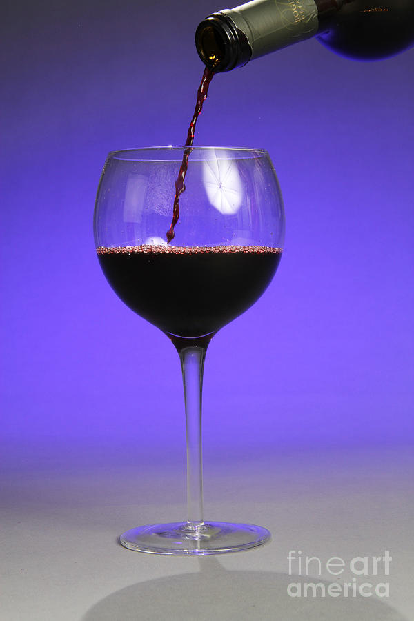 Red Wine Photograph - Pouring Wine by Photo Researchers, Inc.
