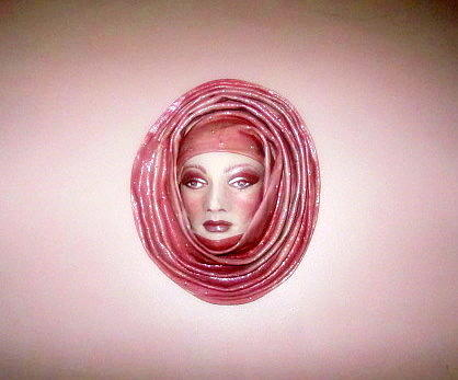 Leather Sculpture Art Print Photograph - Pretty In Pink by Danielle  Parent
