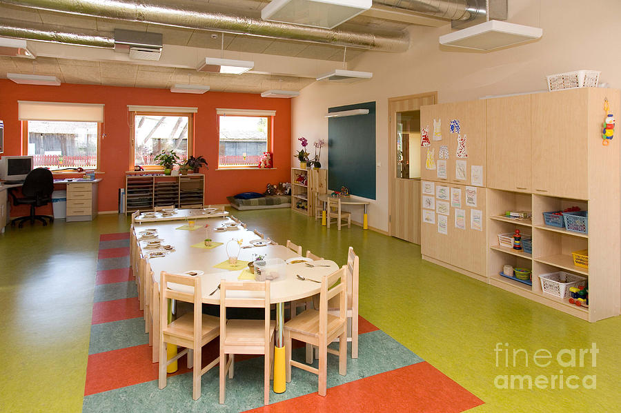 Classroom Design For Primary School : Primary school classroom photograph by photographer jaak